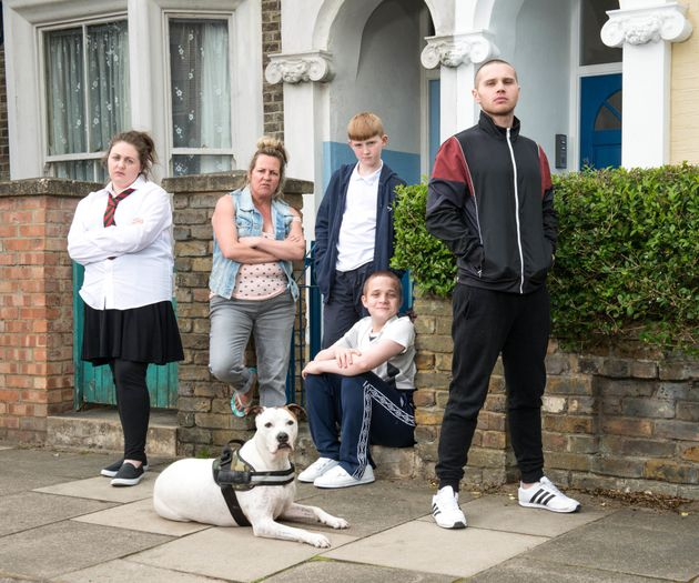 EastEnders introduce 'noisy and brash' new family The Taylors