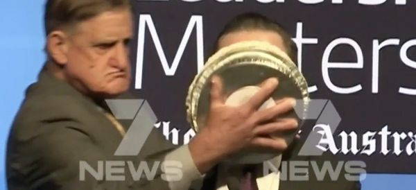 Man Smashes Pie In Airline CEO's Face For Supporting Same-Sex Marriage