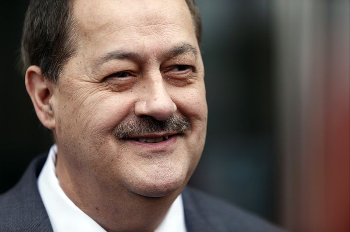 Don Blankenship on Wednesday painted himself as a victim of scheming government officials, rather than an executive whose com