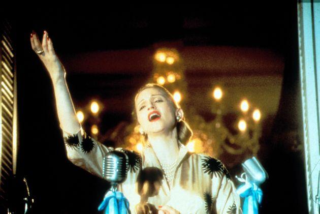 Madonna as Eva Peron in