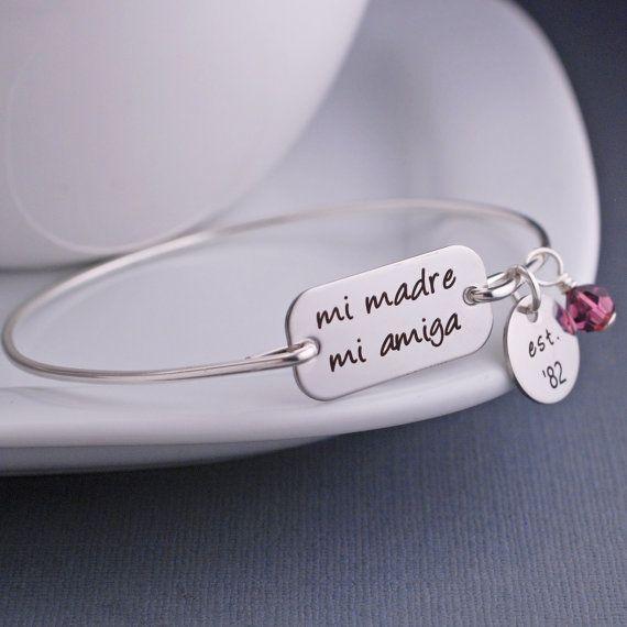 "Etsy,<a href=""https://www.etsy.com/listing/225877382/mi-madre-mi-amiga-bracelet-spanish?ga_order=most_relevant&amp;ga_search_"