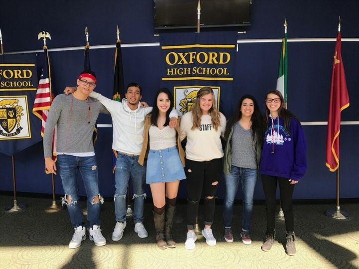 The students of Oxford High School in Michigan are using their own stories to remind each other that suicide is always preventable.