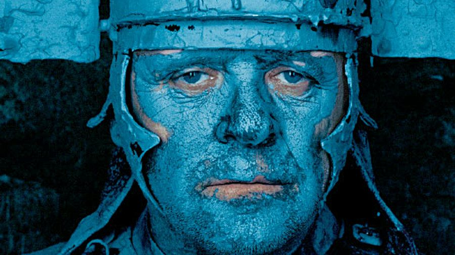 "Anthony Hopkins in ""Titus."""