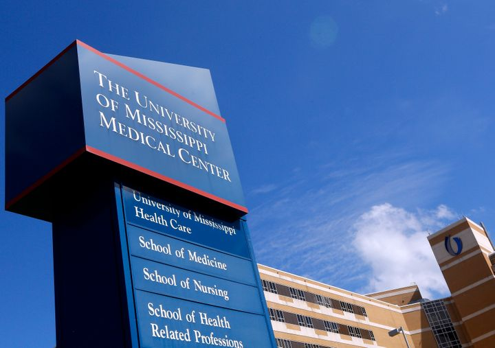 A small portion of the graves was first discovered beneath the University of Mississippi Medical Center in 2012.