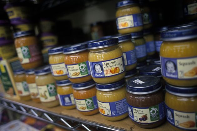 Environmentalists say buying baby food sold in glass jars is preferable since they can be recycled and