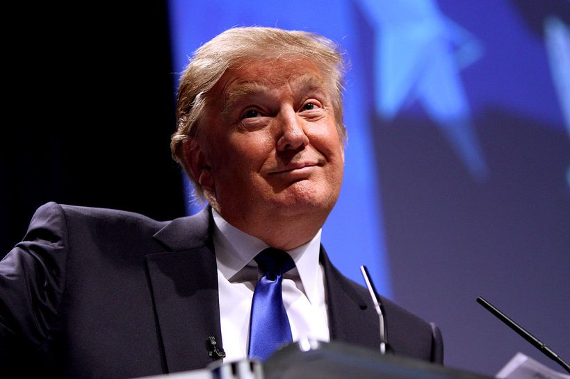 Donald Trump speaking at CPAC in Washington D.C. on February 10, 2011. Creative Commons License.