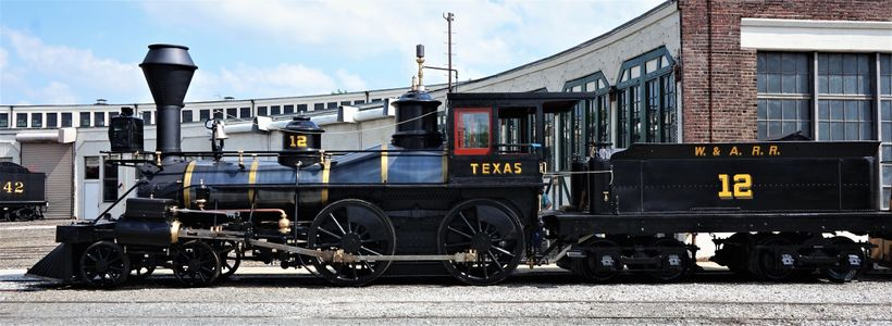 The Texas has also been restored and will soon be on display again at the Atlanta History Center