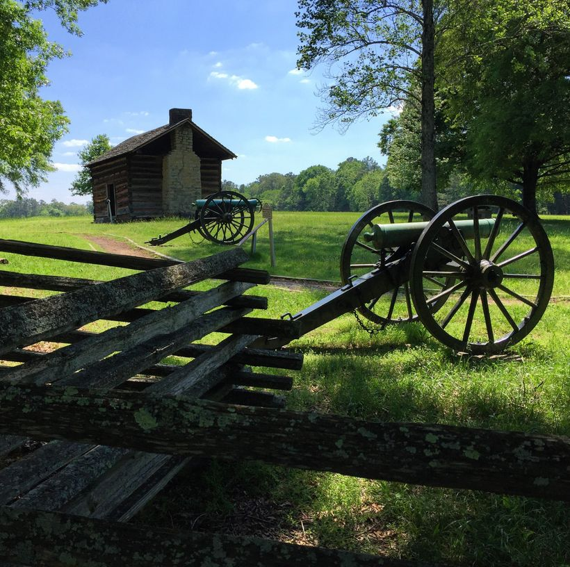 Brothers Cabin, site of a major charge during the Battle of Chickamauga.