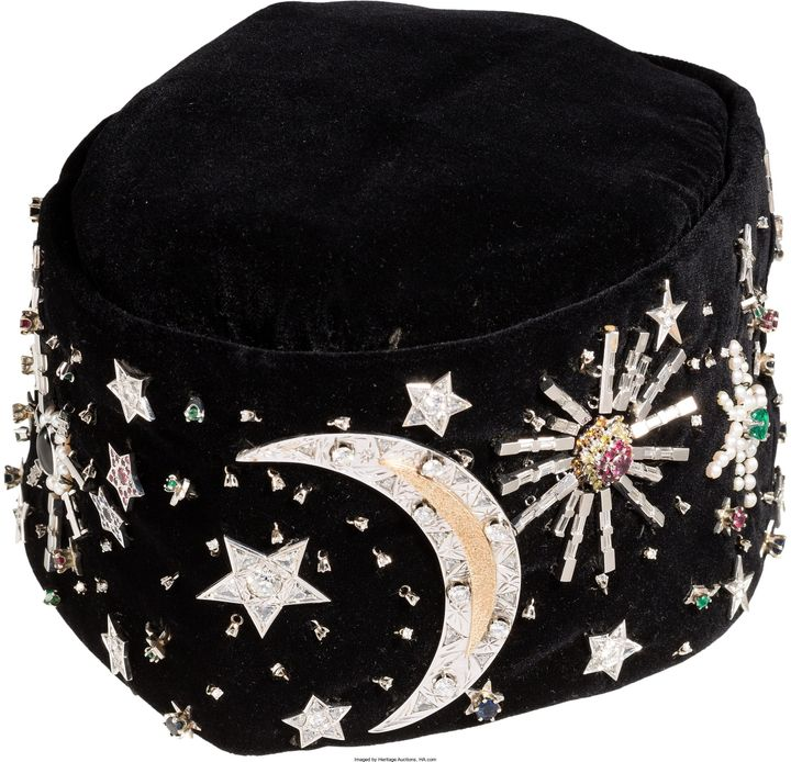 A kofia worn by Nation of Islam leader Elijah Muhammad will be auctioned off this week.