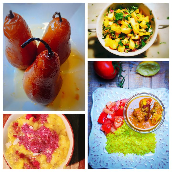 Fruit desserts, Chia pudding, Cauli rice and Fruit salsa are great food ideas for Ramadan