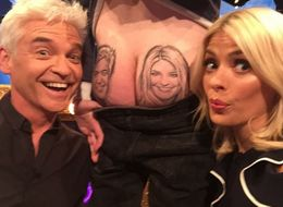 Holly And Phil Meet The Man Who Has Their Faces Tattooed On His Bum (Yes, Really)