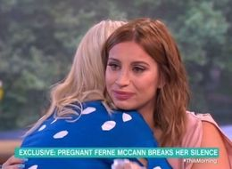 Ferne McCann Fights Back The Tears As She Discusses Her Pregnancy On 'This Morning'