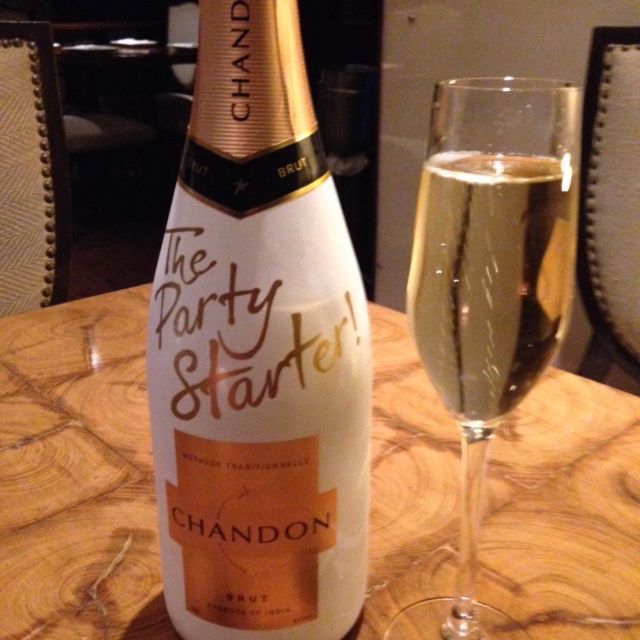 Made in India, Chandon is popular on wine lists in hotels and restaurants.