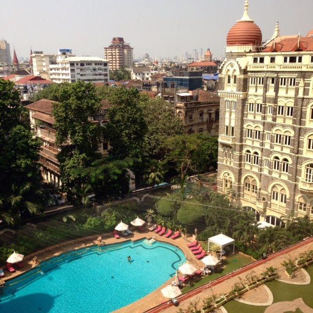 Mumbai's Taj Mahal Palace Hotel is an elegant oasis in a busy city.