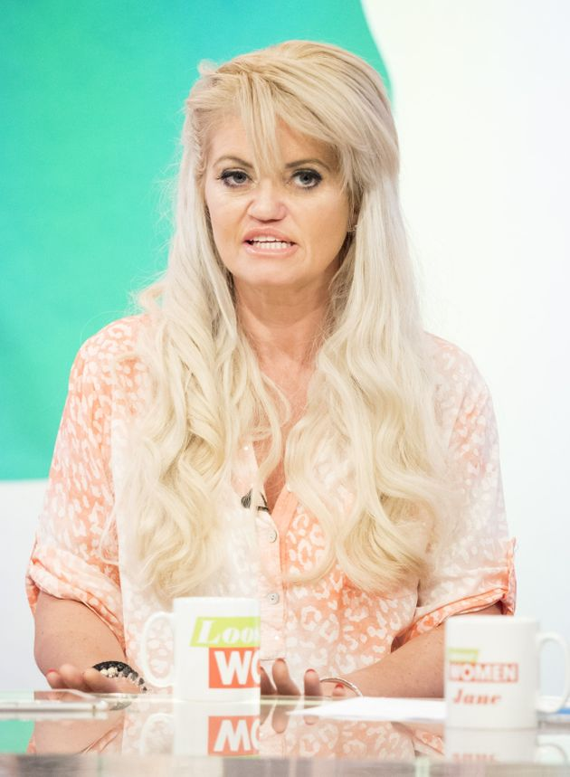 Danniella told the 'Loose Women' she was returning to
