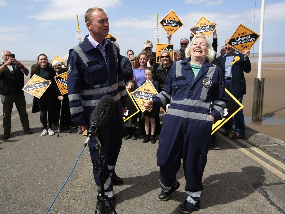 Tim Farron, Facing Down Brexiteers And A Tory MP's Wife, Hopes For A South West Lib Dem