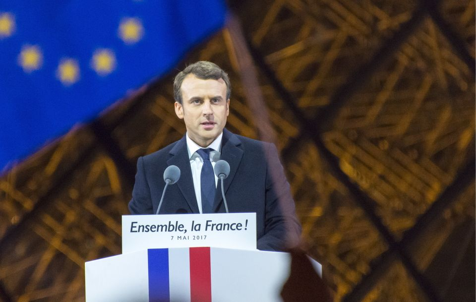 Tim Farron sees a kindred spirit in the new French president, Emmanuel
