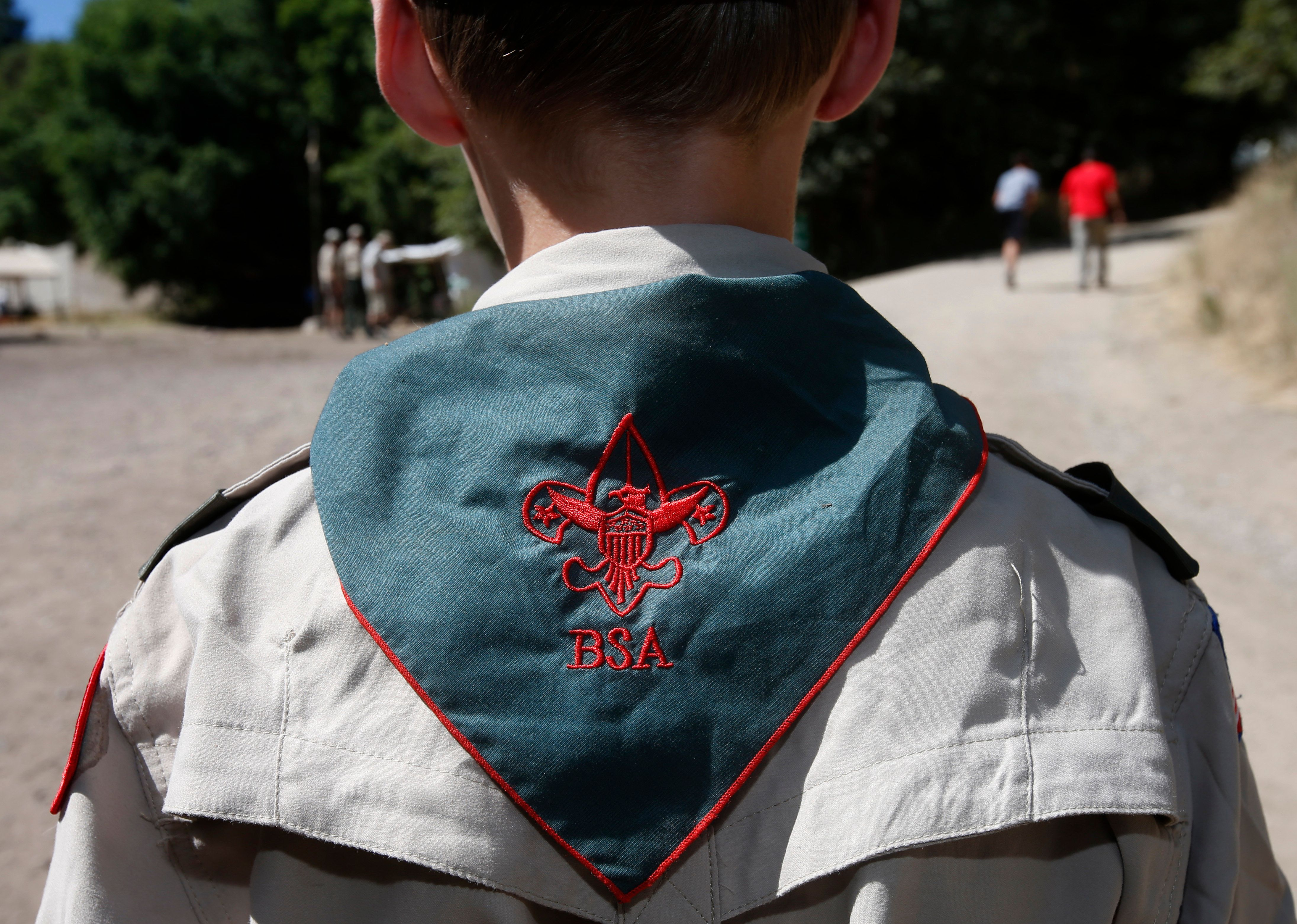 PAYSON, UT - JULY 31: A Boy Scout listens to instruction at camp Maple Dell on July 31, 2015 outside Payson, Utah. The Mormon Church is considering pulling out of its 102 year old relationship with the Boy Scouts after the Boy Scouts changed it's policy on allowing gay leaders in the organization.  Over 99% of the Boy Scout troops in Utah are sponsored by the Mormon Church. (Photo by George Frey/Getty Images)