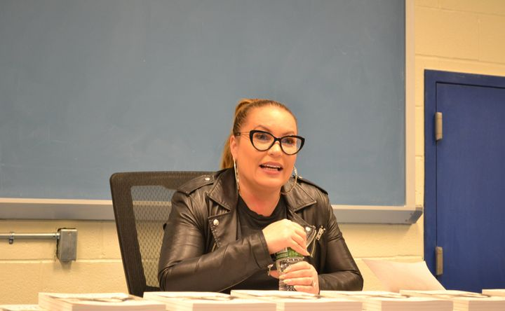 Angie Martinez visited Rikers Island on Wednesday.