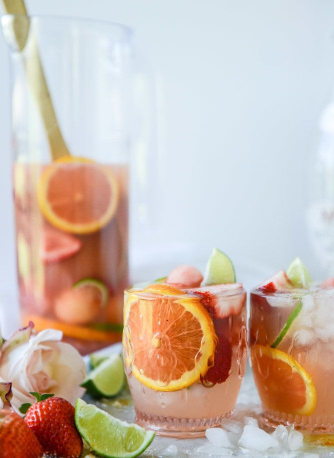 """<strong>Get the <a href=""""http://www.howsweeteats.com/2016/05/rose-sangria/"""" target=""""_blank"""">Rosé Sangria recipe</a>&nb"""