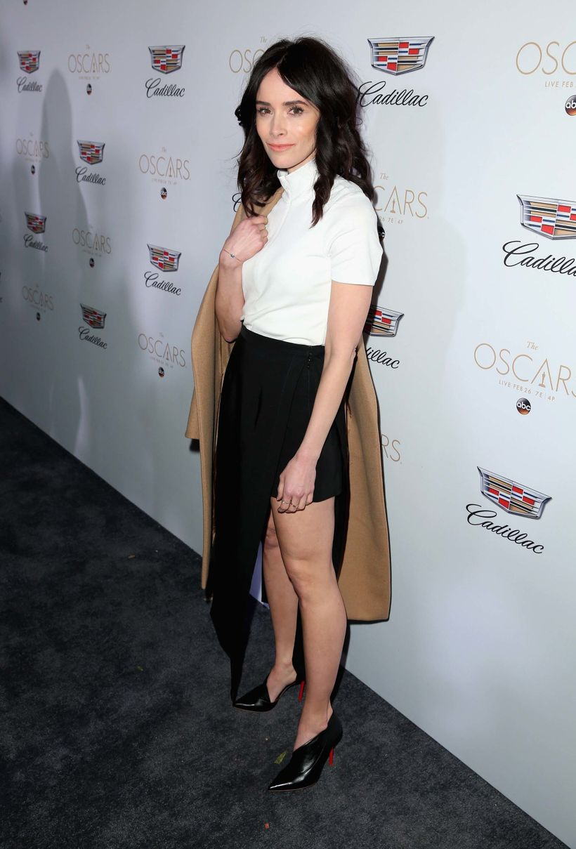 Abigail Spencer Looks stunning at the Cadillac party.