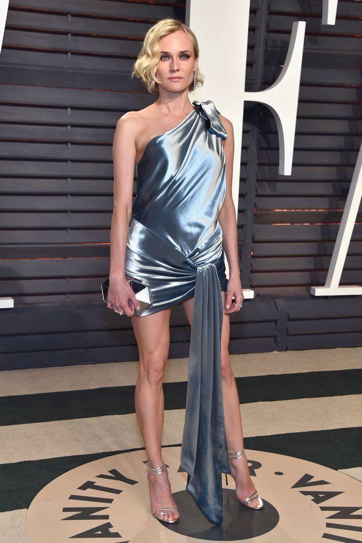 Diane Kruger glows at the Vanity Fair gala.