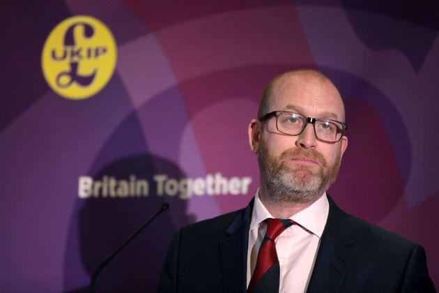 UKIP leader Paul