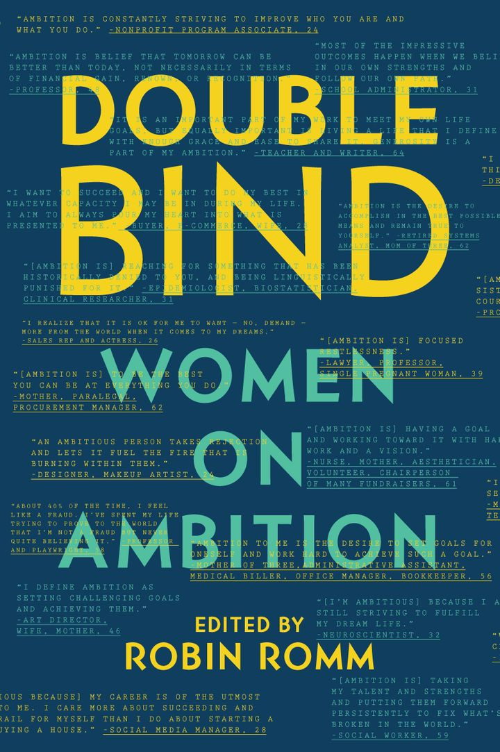 "<i>Head over to <a href=""https://www.amazon.com/Double-Bind-Ambition-Robin-Romm/dp/1631491210?tag=thehuffingtop-20"" target=""_"