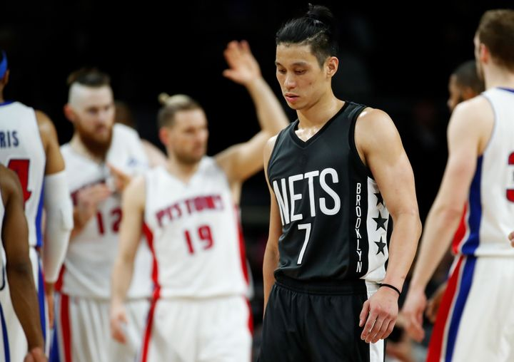 Brooklyn Nets point guard Jeremy Lin says the NBA has been a more welcoming environment than college basketball.