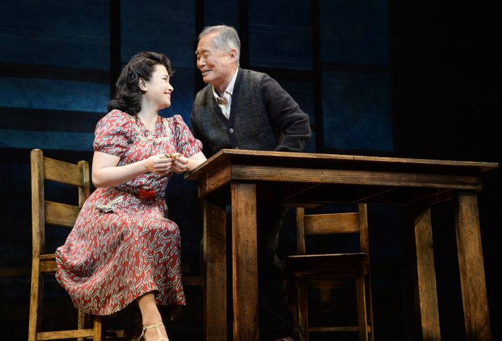 """""""All of us who did the show are extremely proud to have done it,"""" Salonga said of """"Allegiance,"""" in which she starred opposite"""