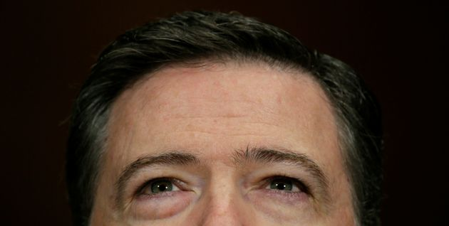 FBI Director James Comey testifies before a Senate Judiciary Committee hearing in Washington, D.C., May...