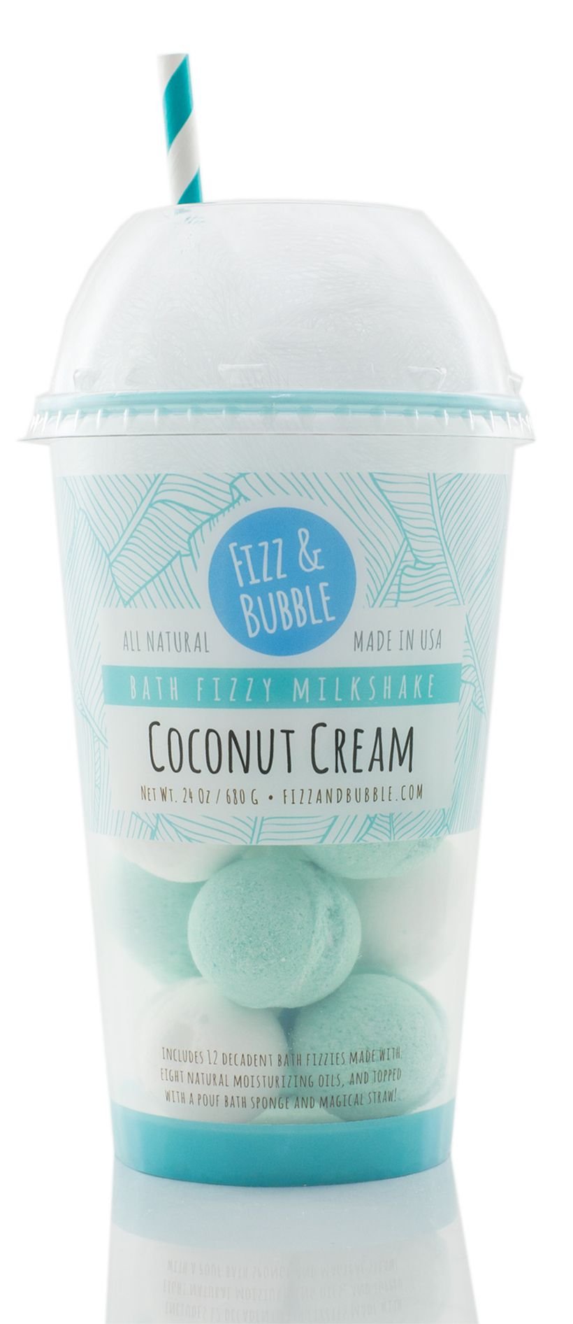 A Fizz & Bubble Coconut Milkshake —for the bath!