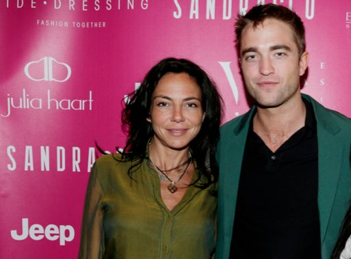 Sandra Zeitoun De Matteis with Robert Pattinson