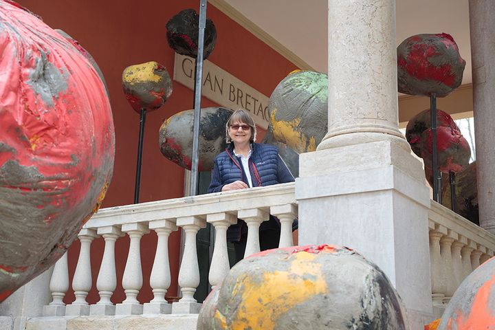 <p>Phyllida Barlow, British Pavilion, Venice, 2017. Courtesy the artist and Hauser & Wirth. Photo: Ruth Clark © British Council. Phyllida Barlow's British Council commission is at the Biennale Arte 2017 from 13 May to 26 November.</p>