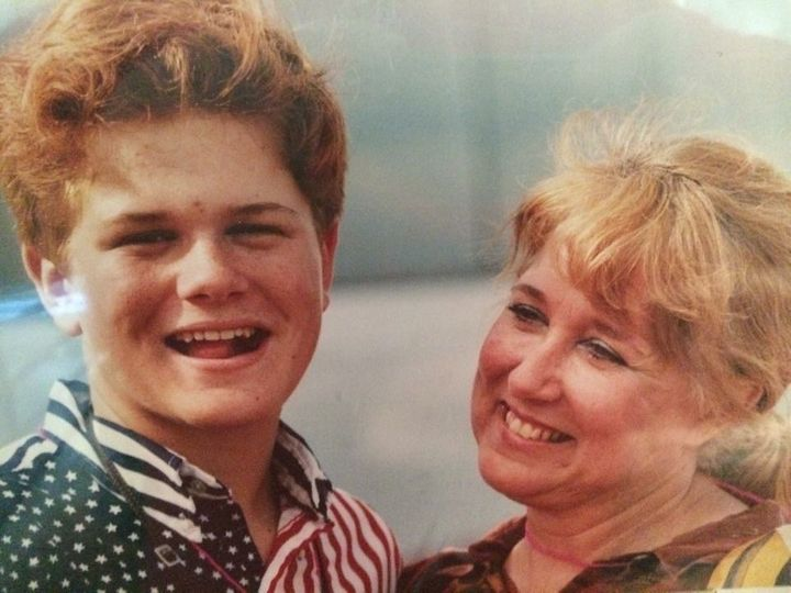 <p>My mom and me. We're a little older, but 1994 seems like yesterday some days.</p>