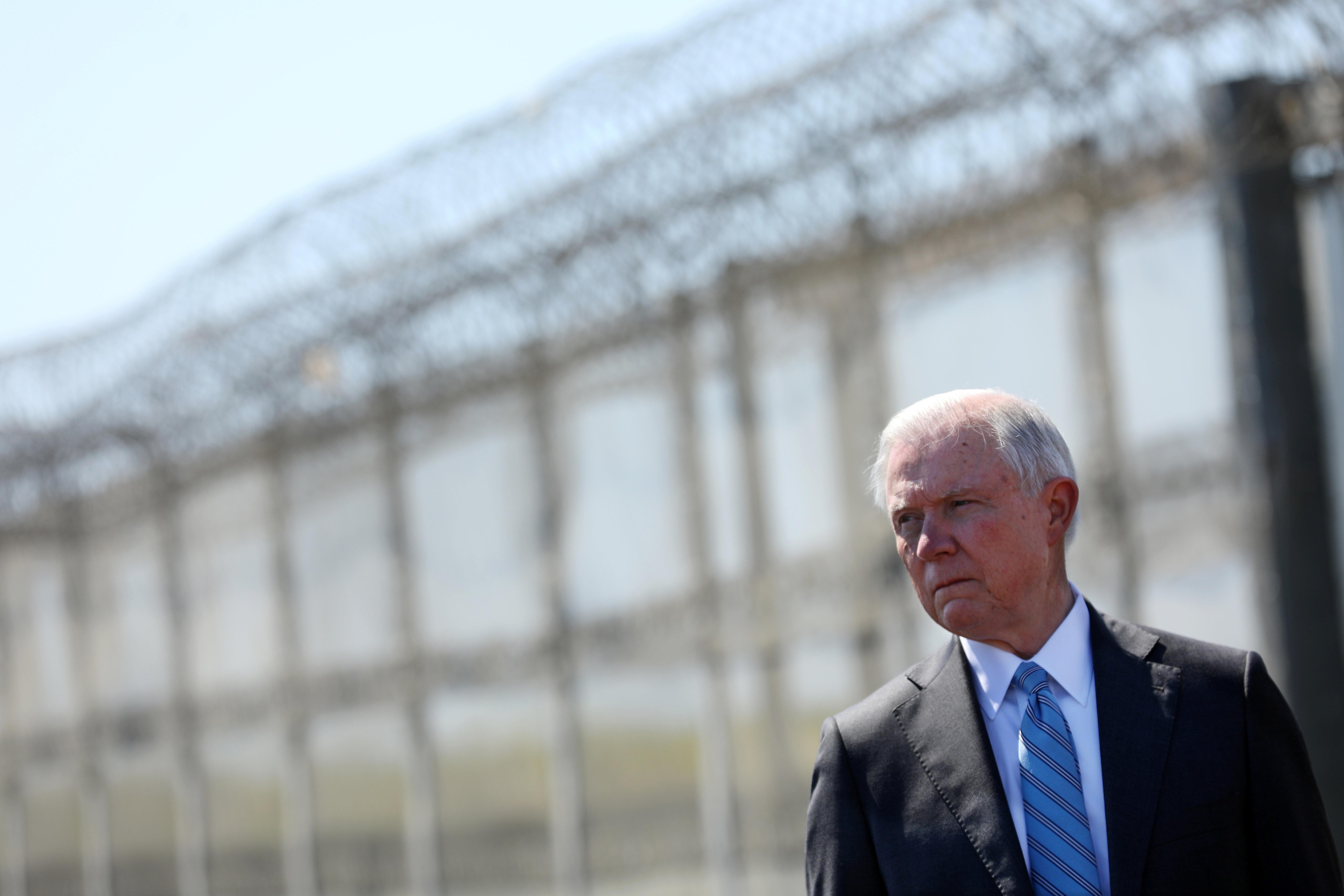 "Attorney General Jeff Sessions'memorandum nixes a<a href=""http://courthousenews.com/wp-content/uploads/2017/01/ho"