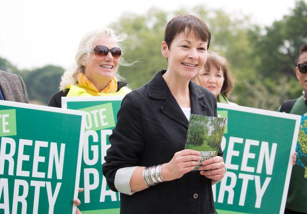Green Party co-leader Caroline