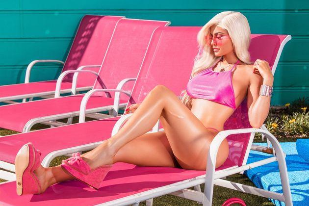 Kylie Jenner Morphs Into Barbie For Flaunt