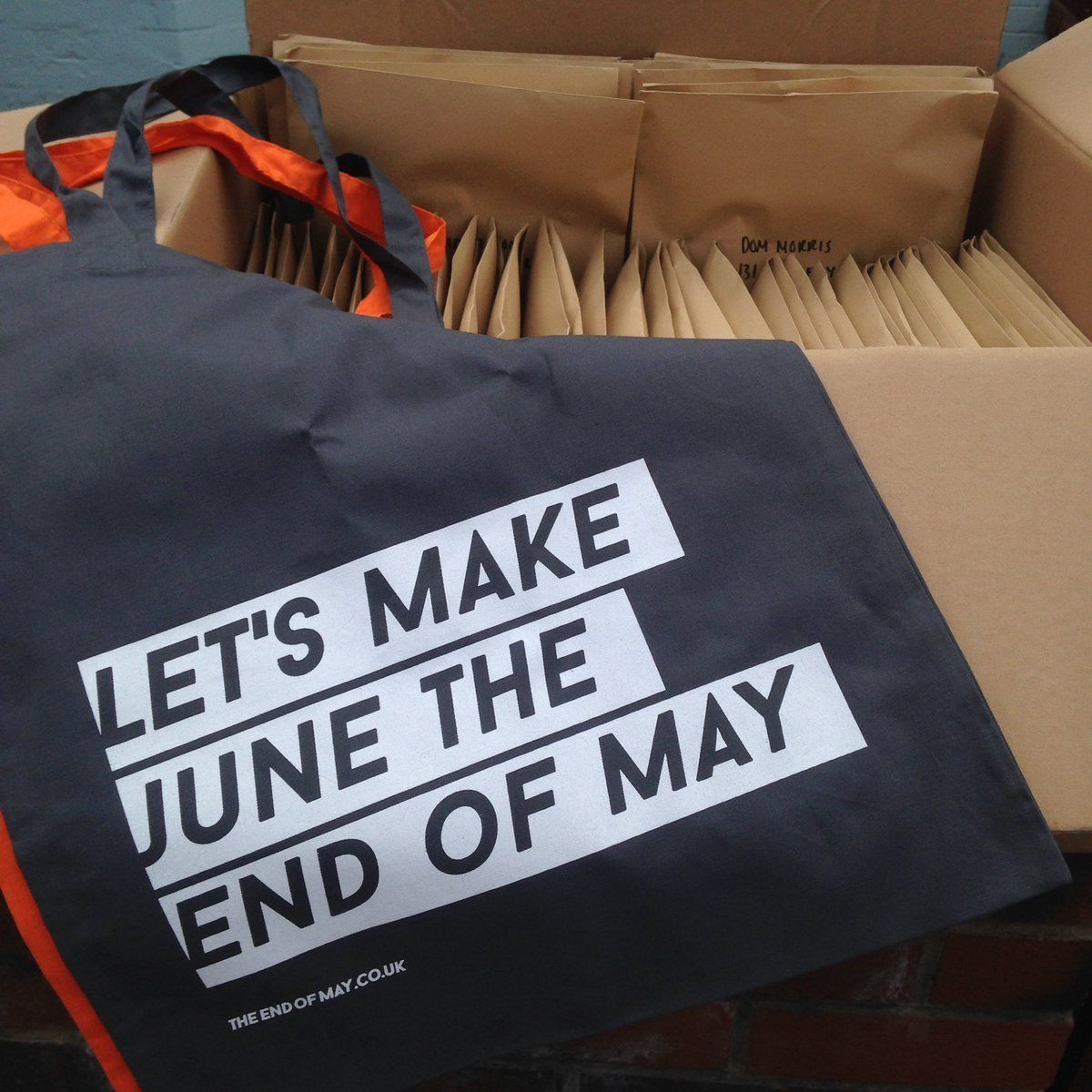 This 'Let's Make June The End Of May' Tote Lets You Make A Gender Neutral Political Style