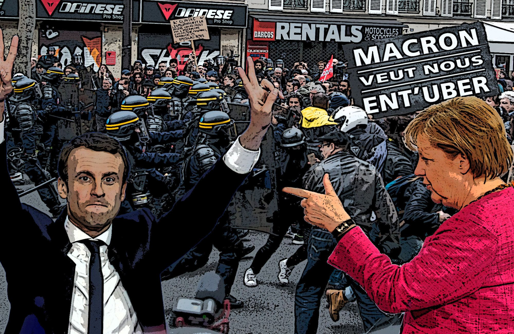 Europe looks on after Macron triumphs in France