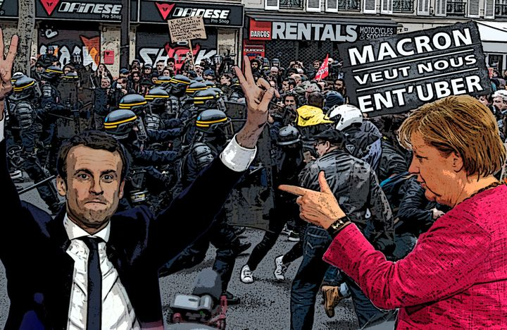 Europe looks on afterMacron triumphs inFrance.