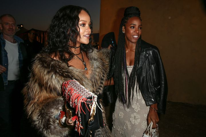 With Kelly Rowland.