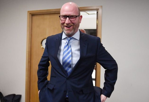 UKIP leader Paul Nuttall claims his party has a 'brilliant future' despite a sharp drop in