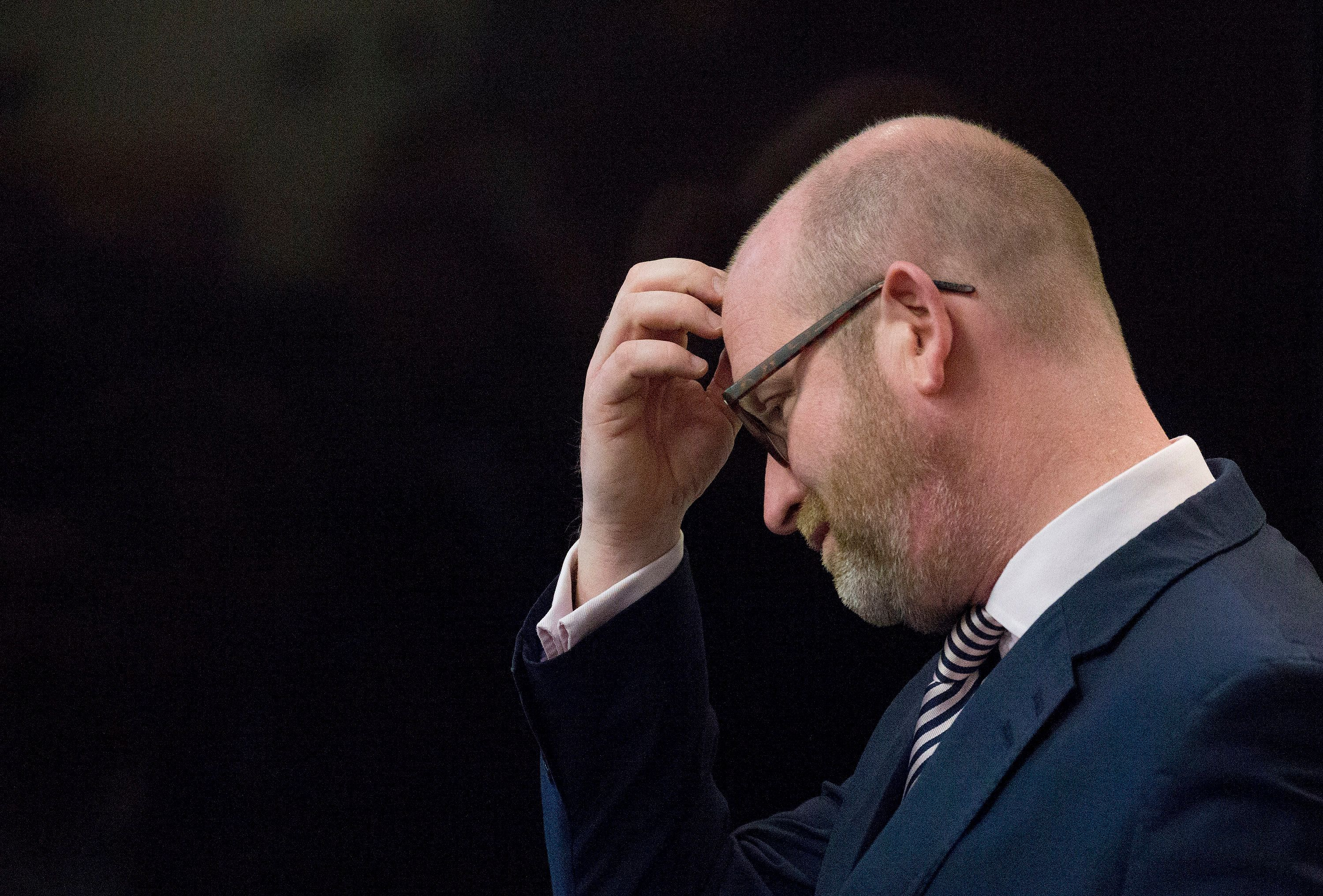 WATCH: UKIP Leader Paul Nuttall Heckled On The Campaign Trail In