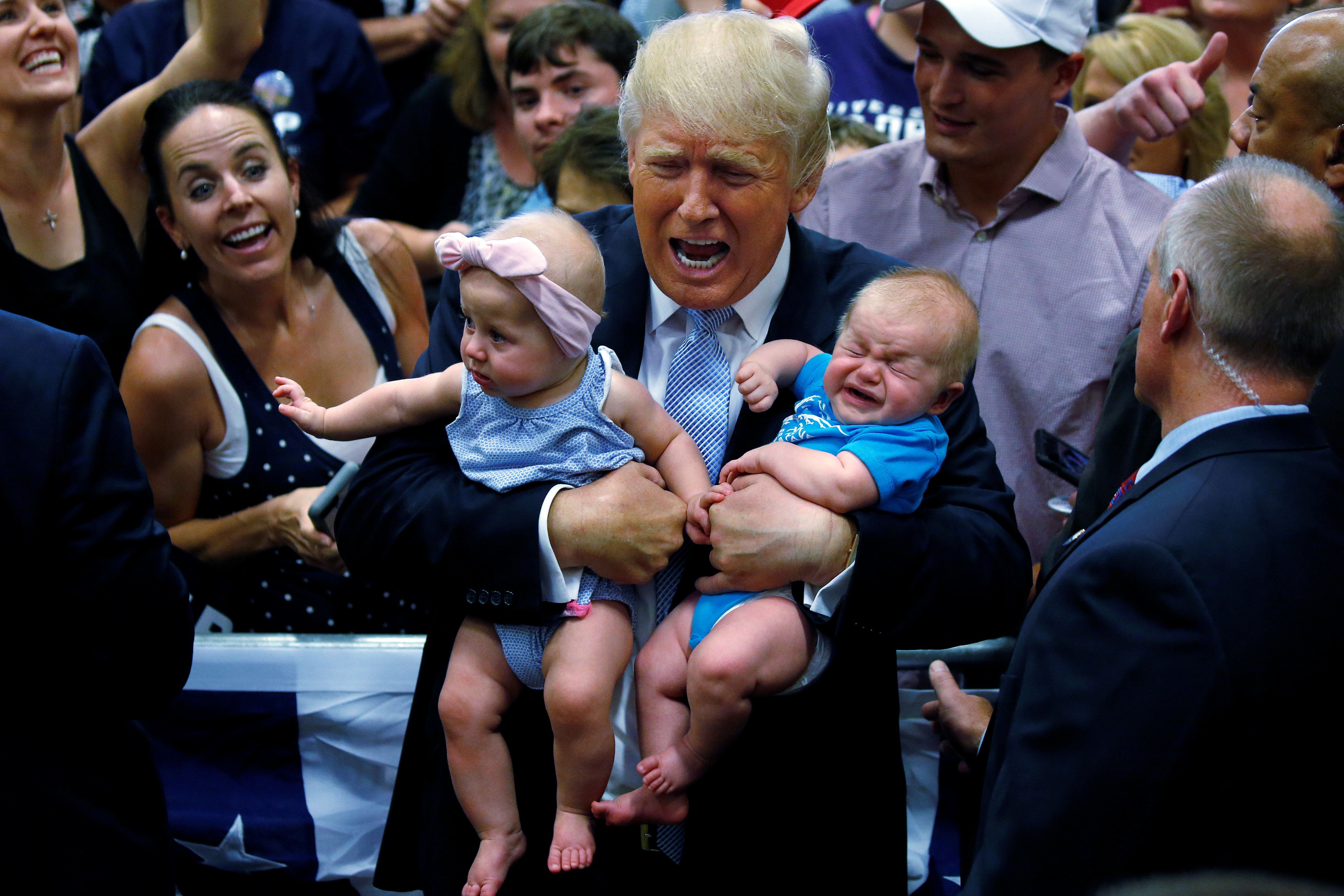 The baby name Donald declined in popularity between 2015 and2016.