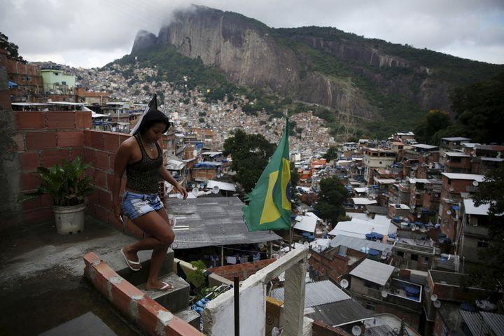 The Rocinha neighbourhood in Rio de Janeiro where <em>favela</em> life inspires funk lyrics.