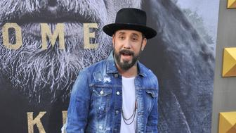 HOLLYWOOD, CA - MAY 08:  AJ McLean arrives at the premiere of Warner Bros. Pictures' 'King Arthur: Legend Of The Sword' at TCL Chinese Theatre on May 8, 2017 in Hollywood, California.  (Photo by Gregg DeGuire/WireImage)
