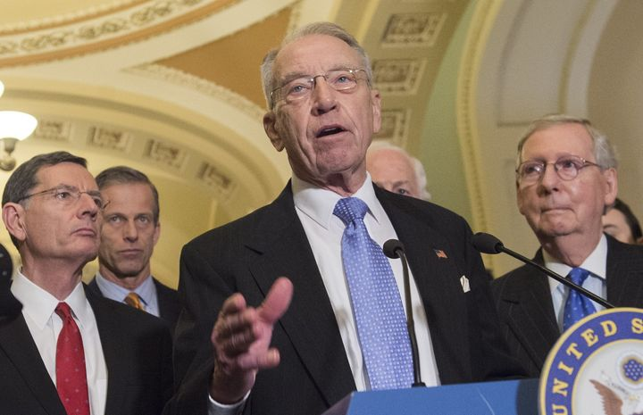 Senate Judiciary Committee Chairman Chuck Grassley said he'd have to talk to colleagues before deciding whether to bring