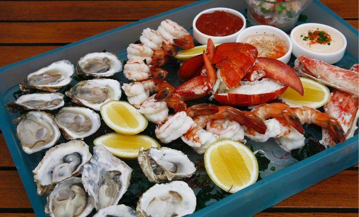 <p>Seafood Platter</p>