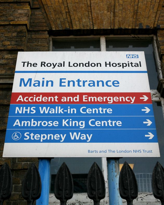The Royal London Hospital is among those hit in the cyber